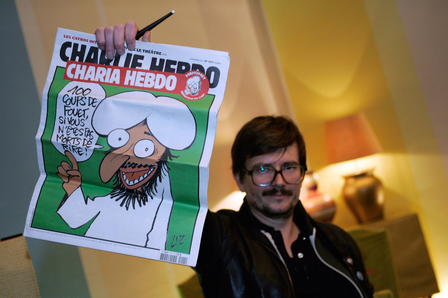 Charlie Hebdo First Team Meeting After Terrorist Attack